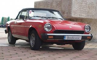 Fiat 124 Spider Rent София